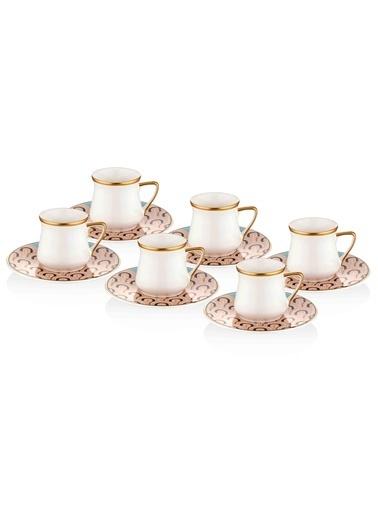 The Mia Gatsby Kahve Fincanı Seti - 6Kişilik Renkli